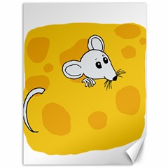 Rat Mouse Cheese Animal Mammal Canvas 36  X 48   by Nexatart