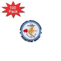 Argentine Naval Aviation Patch 1  Mini Buttons (100 Pack)  by abbeyz71