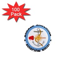 Argentine Naval Aviation Patch 1  Mini Magnets (100 Pack)