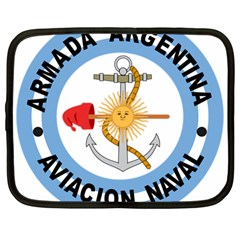 Argentine Naval Aviation Patch Netbook Case (large) by abbeyz71