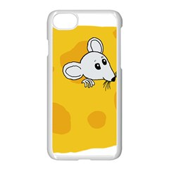 Rat Mouse Cheese Animal Mammal Apple Iphone 8 Seamless Case (white)