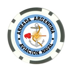 Argentine Naval Aviation Patch Poker Chip Card Guard (10 Pack) by abbeyz71