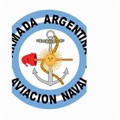 Argentine Naval Aviation Patch Small Garden Flag (two Sides) by abbeyz71