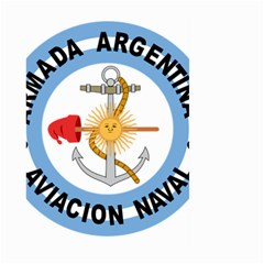 Argentine Naval Aviation Patch Large Garden Flag (two Sides) by abbeyz71