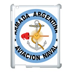 Argentine Naval Aviation Patch Apple Ipad 3/4 Case (white) by abbeyz71