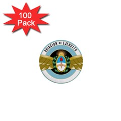 Argentine Army Aviation Badge 1  Mini Buttons (100 Pack)  by abbeyz71