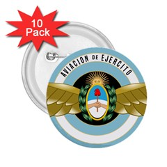 Argentine Army Aviation Badge 2 25  Buttons (10 Pack)  by abbeyz71