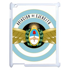 Argentine Army Aviation Badge Apple Ipad 2 Case (white) by abbeyz71
