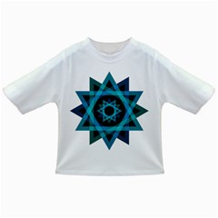 Transparent Triangles Infant/toddler T Shirts