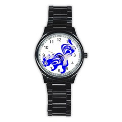 Skunk Animal Still From Stainless Steel Round Watch