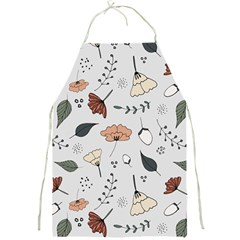 Grey Toned Pattern Full Print Aprons by Nexatart