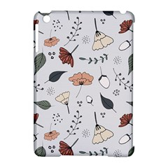 Grey Toned Pattern Apple Ipad Mini Hardshell Case (compatible With Smart Cover)