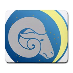 Ram Zodiac Sign Zodiac Moon Star Large Mousepads