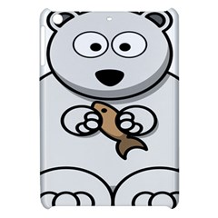 Bear Polar Bear Arctic Fish Mammal Apple Ipad Mini Hardshell Case by Nexatart
