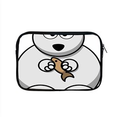 Bear Polar Bear Arctic Fish Mammal Apple Macbook Pro 15  Zipper Case