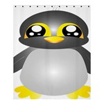 Cute Penguin Animal Shower Curtain 60  x 72  (Medium)  54.25 x65.71 Curtain