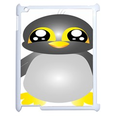 Cute Penguin Animal Apple Ipad 2 Case (white)