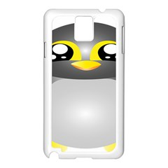 Cute Penguin Animal Samsung Galaxy Note 3 N9005 Case (white)