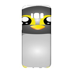 Cute Penguin Animal Samsung Galaxy S8 Hardshell Case  by Nexatart