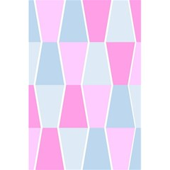 Geometric Pattern Design Pastels 5 5  X 8 5  Notebooks by Nexatart