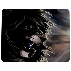 Angry Lion Digital Art Hd Jigsaw Puzzle Photo Stand (rectangular)