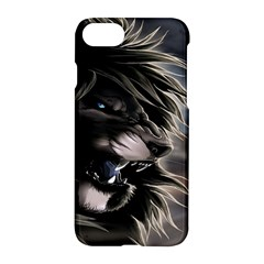 Angry Lion Digital Art Hd Apple Iphone 7 Hardshell Case