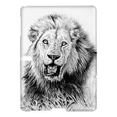 Lion Wildlife Art And Illustration Pencil Samsung Galaxy Tab S (10 5 ) Hardshell Case