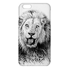 Lion Wildlife Art And Illustration Pencil Iphone 6 Plus/6s Plus Tpu Case