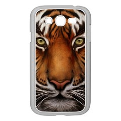 The Tiger Face Samsung Galaxy Grand Duos I9082 Case (white)