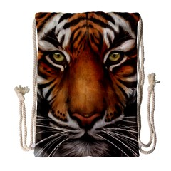 The Tiger Face Drawstring Bag (large)