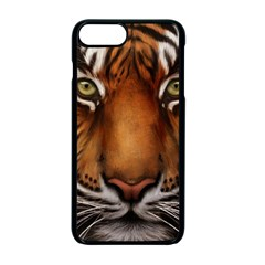 The Tiger Face Apple Iphone 7 Plus Seamless Case (black)