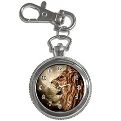 Roaring Lion Key Chain Watches by Nexatart