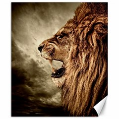 Roaring Lion Canvas 8  X 10