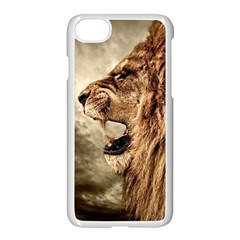 Roaring Lion Apple Iphone 8 Seamless Case (white)