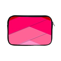 Geometric Shapes Magenta Pink Rose Apple Ipad Mini Zipper Cases