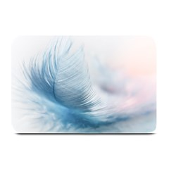 Feather Ease Slightly Blue Airy Plate Mats