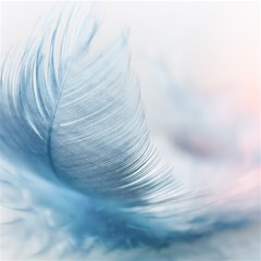 Feather Ease Slightly Blue Airy Magic Photo Cubes