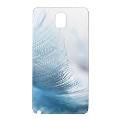 Feather Ease Slightly Blue Airy Samsung Galaxy Note 3 N9005 Hardshell Back Case