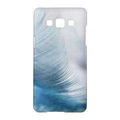 Feather Ease Slightly Blue Airy Samsung Galaxy A5 Hardshell Case