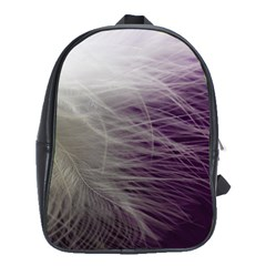 Feather Ease Airy Spring Dress School Bag (large) by Nexatart