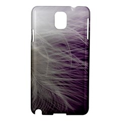Feather Ease Airy Spring Dress Samsung Galaxy Note 3 N9005 Hardshell Case by Nexatart