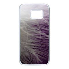 Feather Ease Airy Spring Dress Samsung Galaxy S7 White Seamless Case