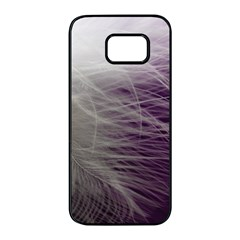 Feather Ease Airy Spring Dress Samsung Galaxy S7 Edge Black Seamless Case