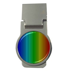 Spectrum Colours Colors Rainbow Money Clips (round)  by Nexatart