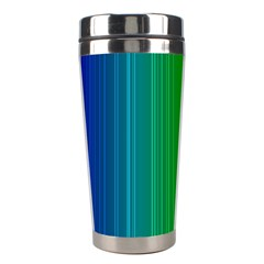 Spectrum Colours Colors Rainbow Stainless Steel Travel Tumblers by Nexatart