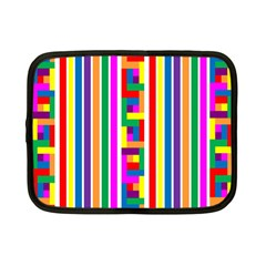 Rainbow Geometric Design Spectrum Netbook Case (small)