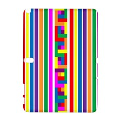 Rainbow Geometric Design Spectrum Galaxy Note 1