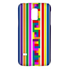 Rainbow Geometric Design Spectrum Galaxy S5 Mini