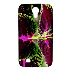 Plant Purple Green Leaves Garden Samsung Galaxy Mega 6 3  I9200 Hardshell Case