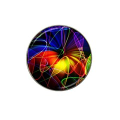 Fractal Pattern Abstract Chaos Hat Clip Ball Marker (10 Pack)